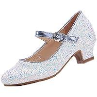 EIGHT KM EKM7015 Girls Mary Jane Low Heel Court Shoes