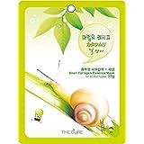 カタツムリ コラーゲン エッセンス マスク THE CURE シート パック 100枚セット 韓国 コスメ 乾燥肌 オイリー肌 混合肌