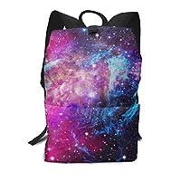 スクールバッグ宇宙銀河星雲スペースバックパック男性と女性のバックパック大容量学生のバックパック防水トラベルバッグ