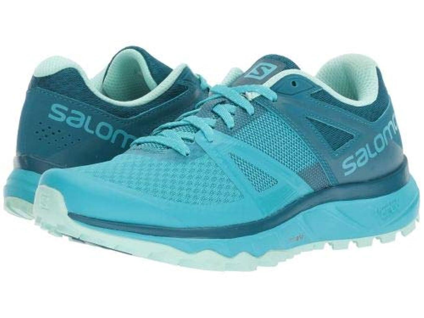 さておき盗難ふくろうSalomon(サロモン) レディース 女性用 シューズ 靴 スニーカー 運動靴 Trailster - Bluebird/Deep Lagoon/Beach Glass 5.5 B - Medium [並行輸入品]