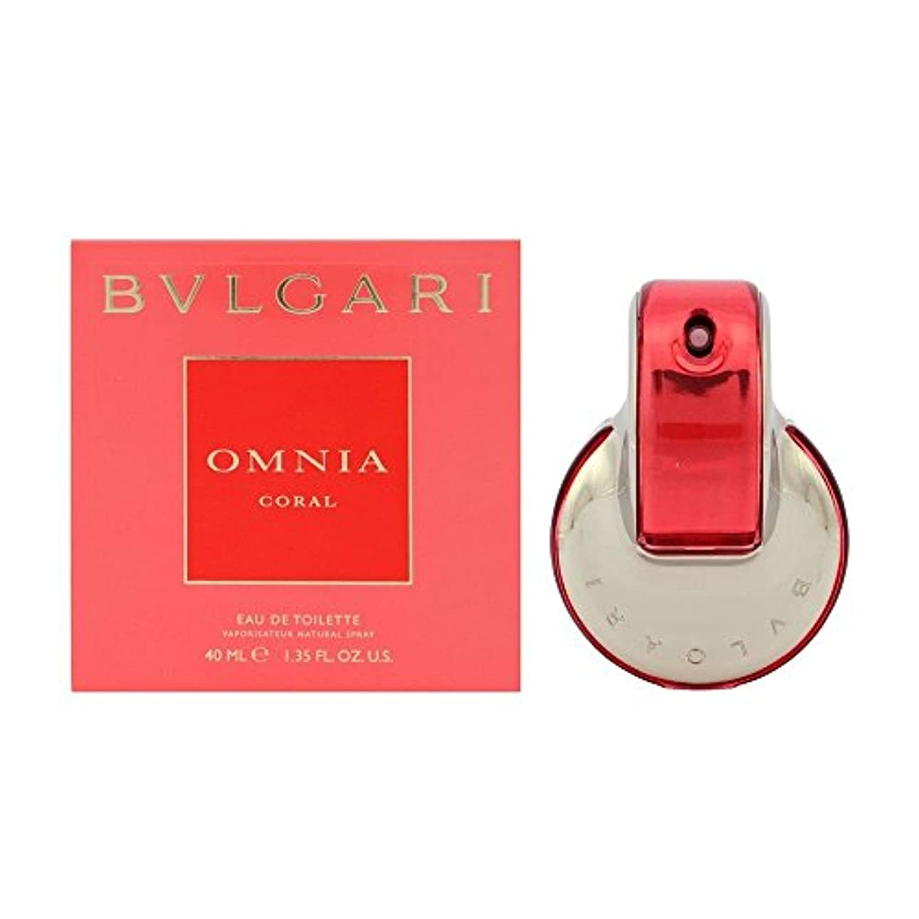 BVLGARI オムニア コーラル レディース 香水 ET/SP/40ml 4033-BV-40 [並行輸入品]
