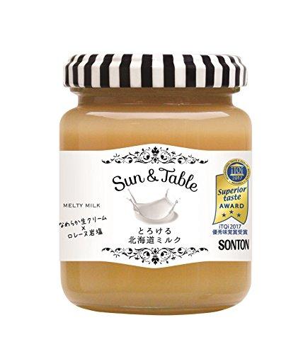サン&テーブル とろける北海道ミルクジャム 160g