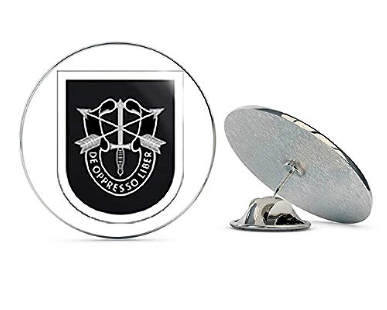 Veteran Pins アメリカ陸軍 第5特殊部隊グループ メタル 0.75インチ ラペルハット ピン タイタック ピンバック