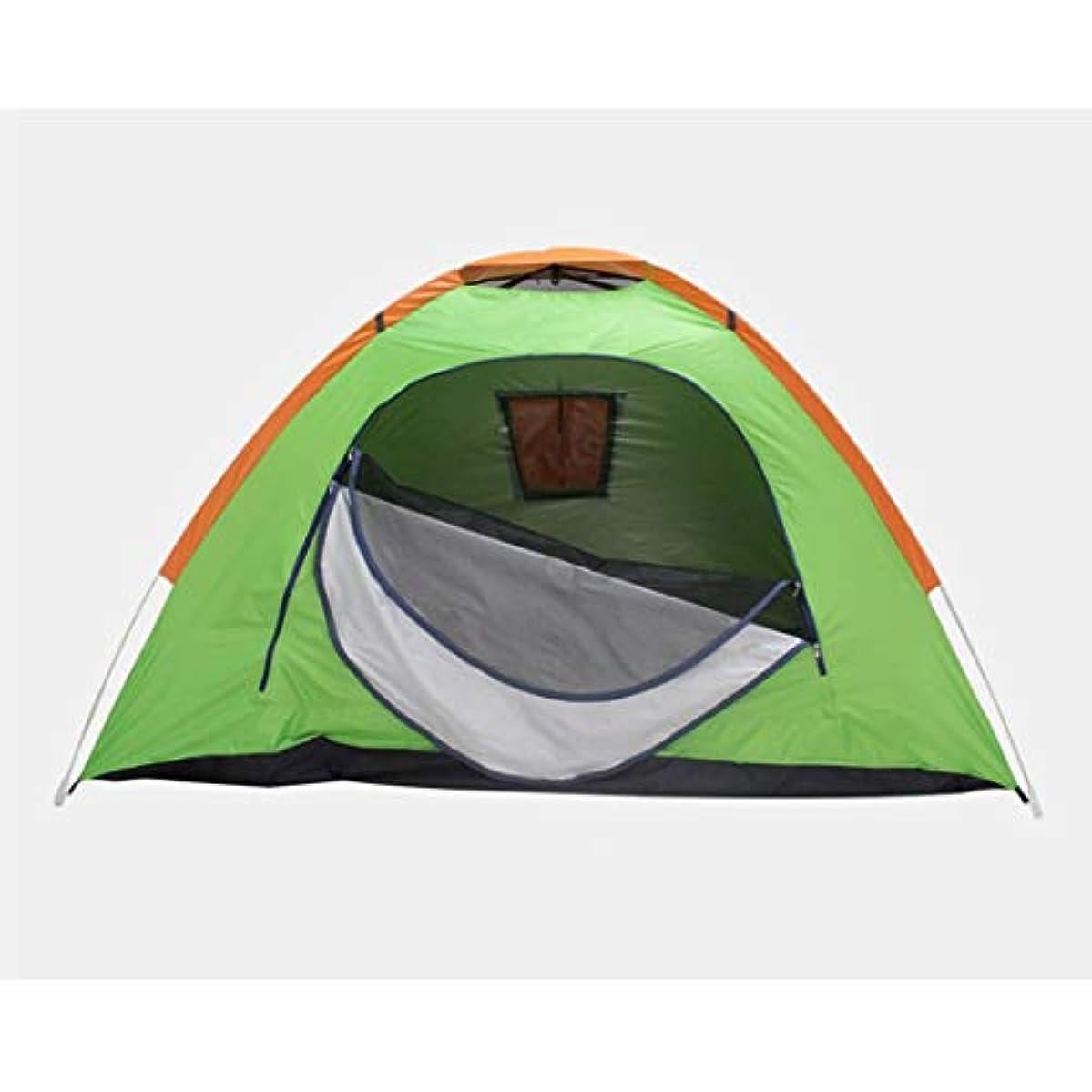 昨日主流性能Nekovan 2-3人のキャンプテント4シーズンのバックパッキングテント自動インスタントポップアップ屋外テント用テント (色 : オレンジ)