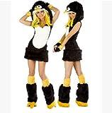 コスプレ ペンギンイメージアニマルコスチューム ハロウィン衣装 コスプレ衣装 QQアバターコスプレ