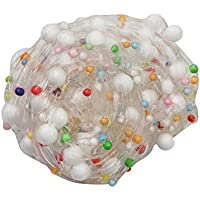 inkachふわふわSlime – Kids Foam Ball Muds Slime Stress ReliefおもちゃカラフルMixing Clayギフト One Size マルチカラー HM-1