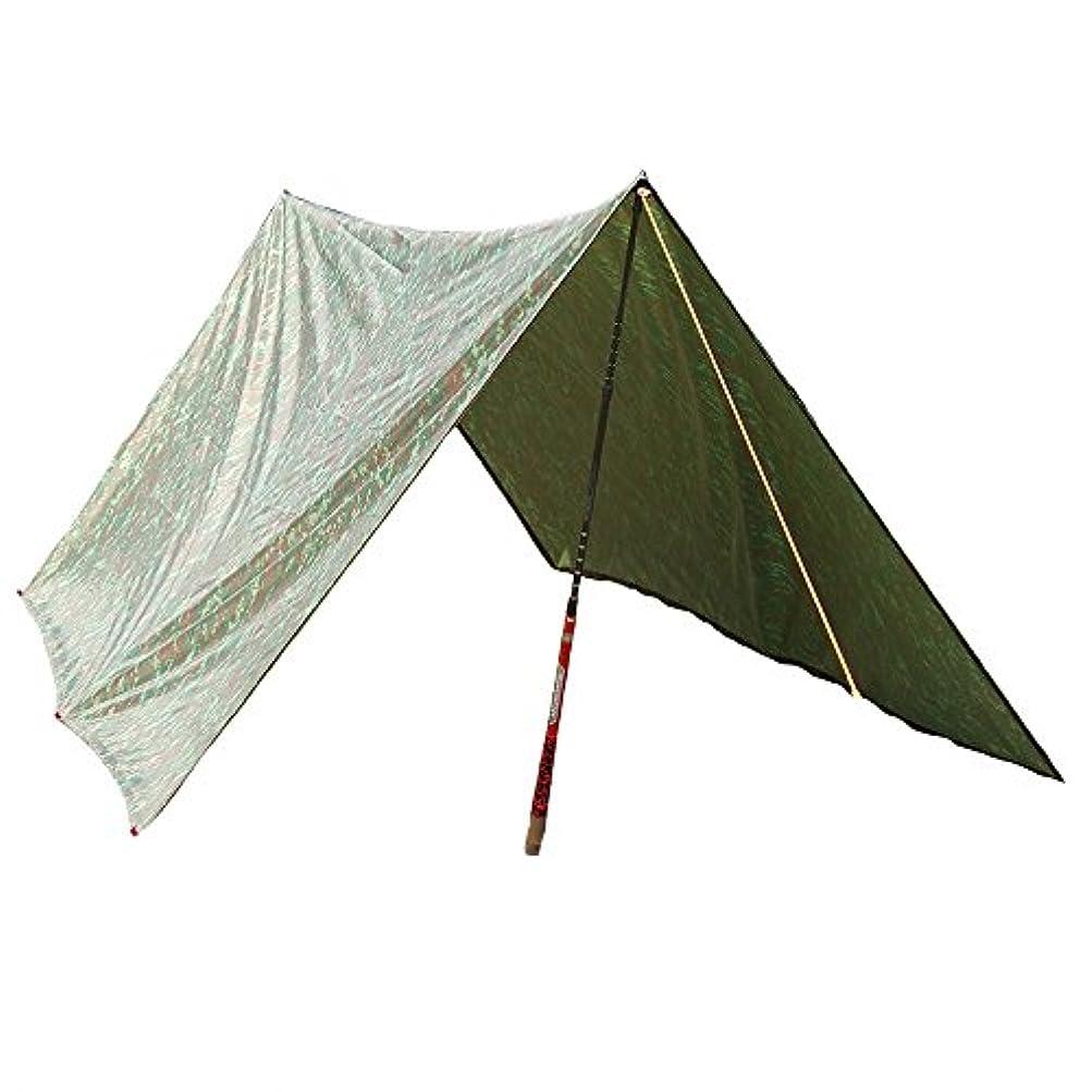 十分に趣味余計なTakela 迷彩柄 多機能 防水タープ天幕 キャンピングマット 3 * 3M【2~4人用】収納袋付き