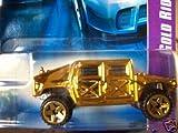 Hot Wheels 1:64 Diecast car Gold Rides Series - HUMVEE 03 of 04 07 055/180 by Hot Wheels [並行輸入品]