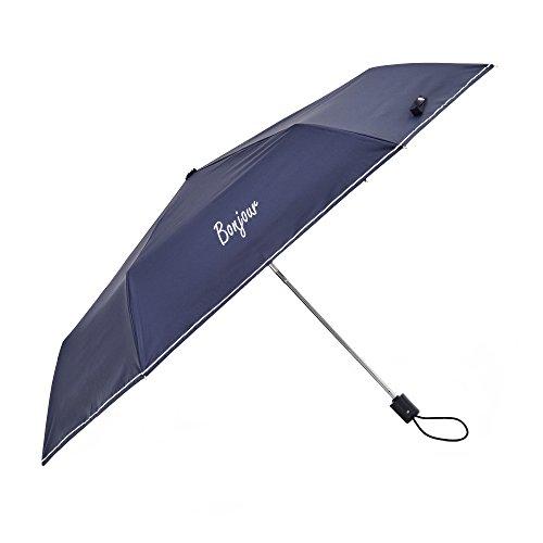 tiohoh-Bonjour 日傘 uvカット 100 遮光 折りたたみ傘 レディース 遮熱 自動開閉 耐風 晴雨兼用 軽量 人気 親骨55cm 母の日 プレゼント ネイビー