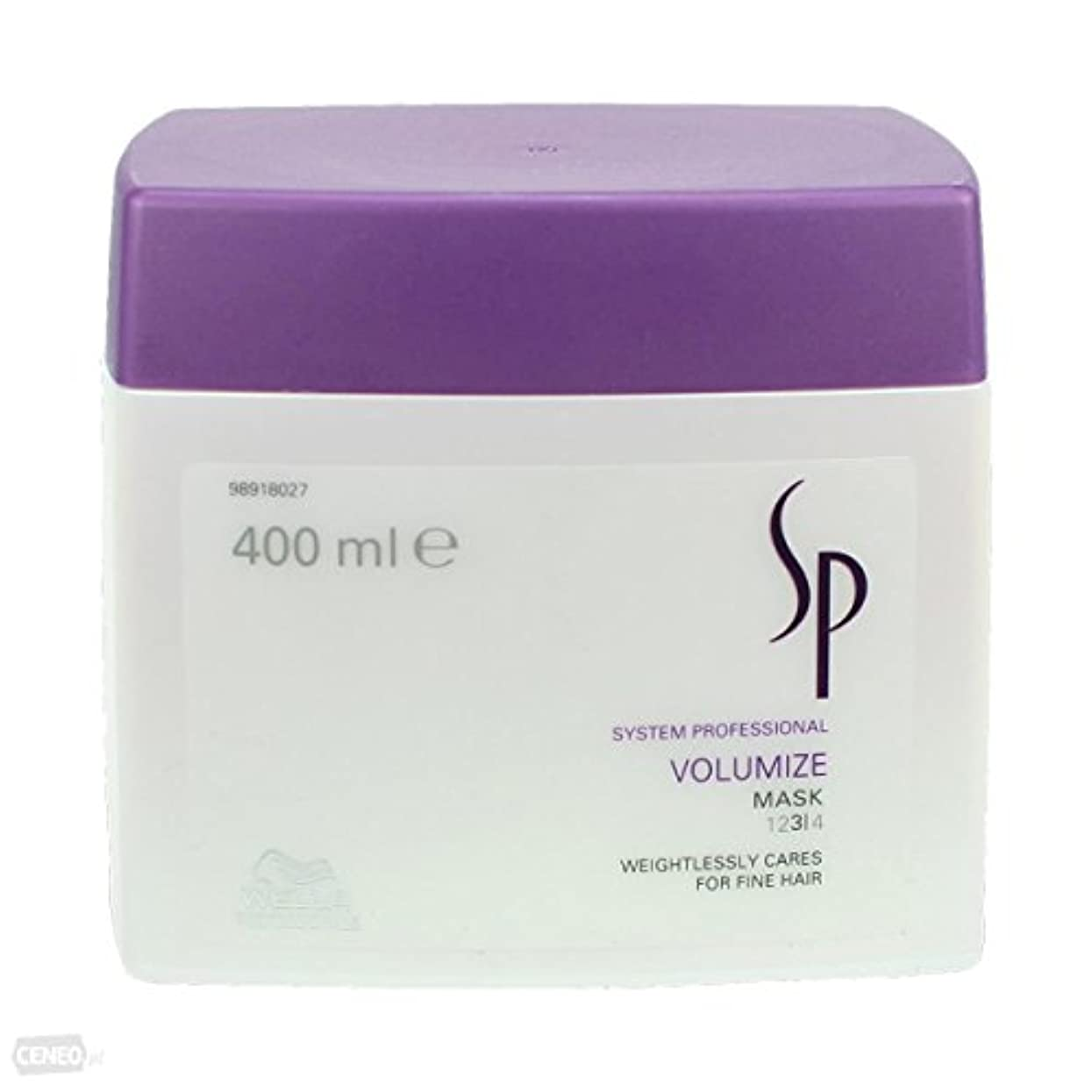 廊下統合する目を覚ますWella SP Volumize Mask ( For Fine Hair ) - 400ml/13.33oz by Wella [並行輸入品]