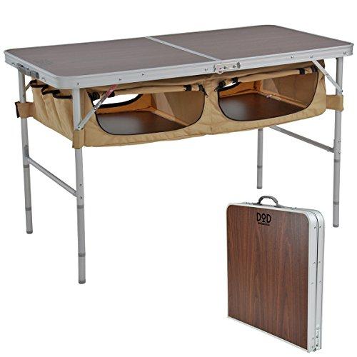 DOD(ディーオーディー)『ストレージアウトドアテーブル』