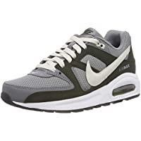 Nike Boys Air Max Command Flex (GS) Shoes, Cool Grey/Light Bone-Sequoia-White-Black