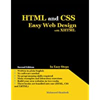 HTML and CSS Easy Web Design with XHTML