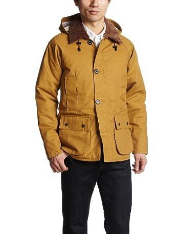 Padded Hunting Coat 1225-104-6426: Mustard