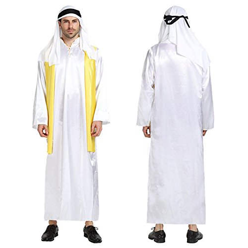monoii アラブ コスプレ 石油王 コスチューム ハロウィン 大富豪 王様 衣装 仮装 c530