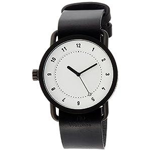 [ティッドウォッチ]TID Watches デザイナーズウォッチ 特別ノベルティトートバッグ付属 延長保証付き TID01-WH/BK TOTE 【正規輸入品】