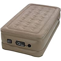 Insta-bed Raised Air Bed with NeverFlat AC Pump, Twin by Insta-Bed