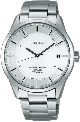 [セイコー]SEIKO 腕時計 SPIRIT スピリット ソーラー電波修正 サファイアガラス スーパークリア コーティング 日常生活用強化防水(10気圧) Comfotex Ti コンフォテックス チタン 耐メタルアレルギー SBTM207 メンズ