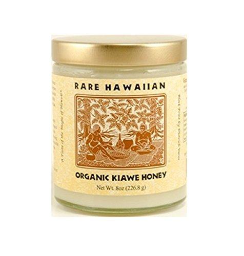 レアハワイアン オーガニック ホワイトハニー プレーン 8oz(226.8g) 並行輸入品 ハワイお土産 はちみつ