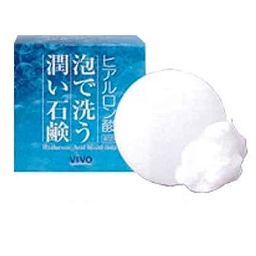 推進ピービッシュ消化Bella Vivo ヒアルロン酸洗顔石鹸 3個セット