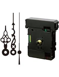 誠時(セイジ) 掛け時計用 電波時計 ムーブメント スイープ秒針タイプ (文字盤の厚さ 六角ナット5mm 丸ナット7mmまで対応) RC-350