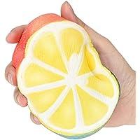cinhent 1pc Sour Fresh半分のBig Lemon HandリラックスSquishy ToyPepole Love toピンチIt and Feelソフトテクスチャ、スーツの子供と大人