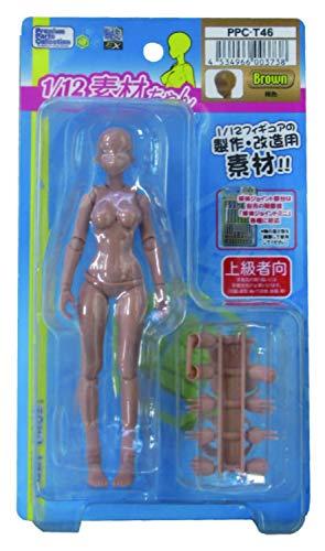 ホビーベース 1/12 プレミアムパーツコレクション 関節技EX 素材ちゃん 褐色 ホビー用素材 PPC-T46
