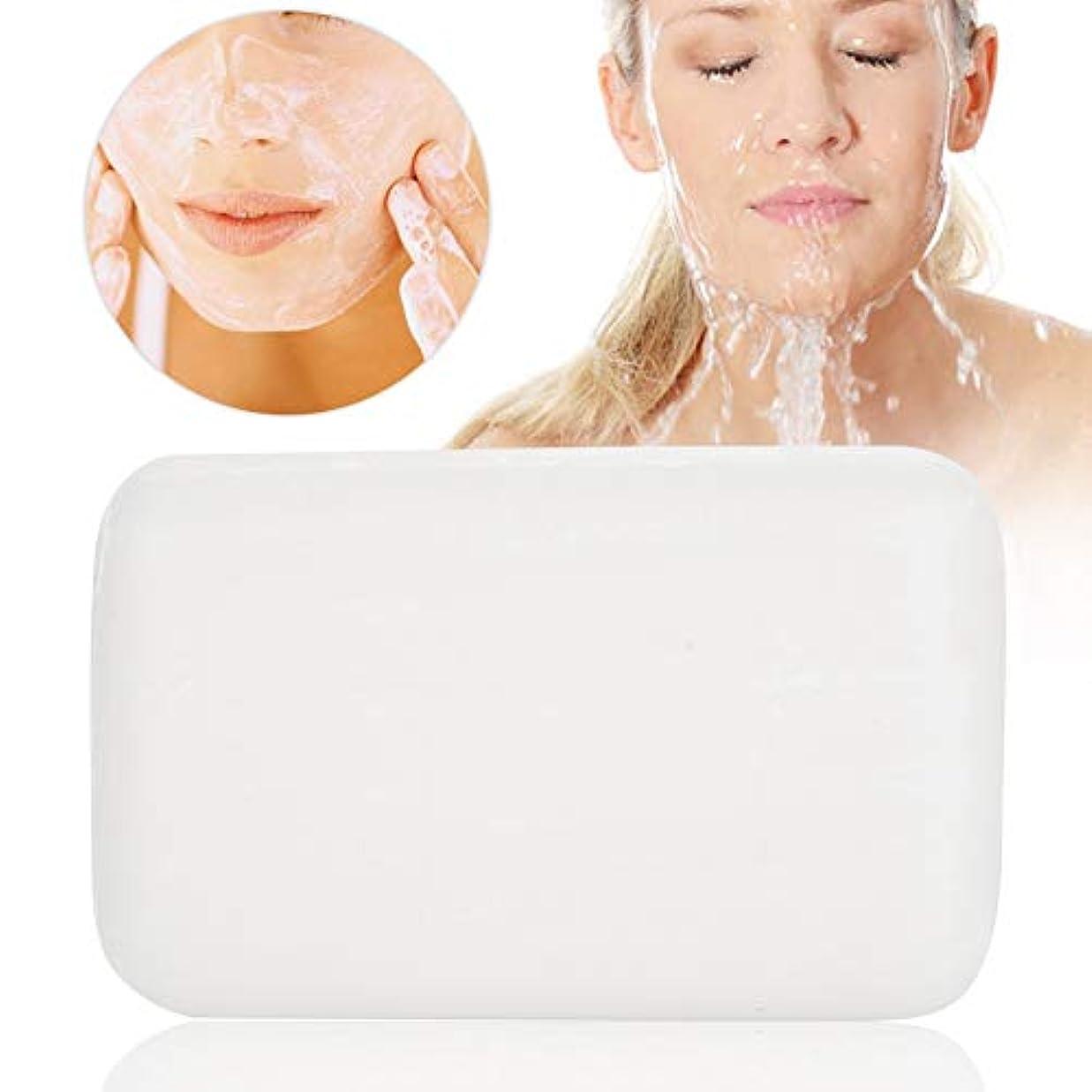 拡声器主観的ユニークな洗顔石鹸 石鹸 シミ取り! 洗顔石けん 無添加 低刺激性 化粧石鹸(洗顔?全身用) せっけん バスサイズ