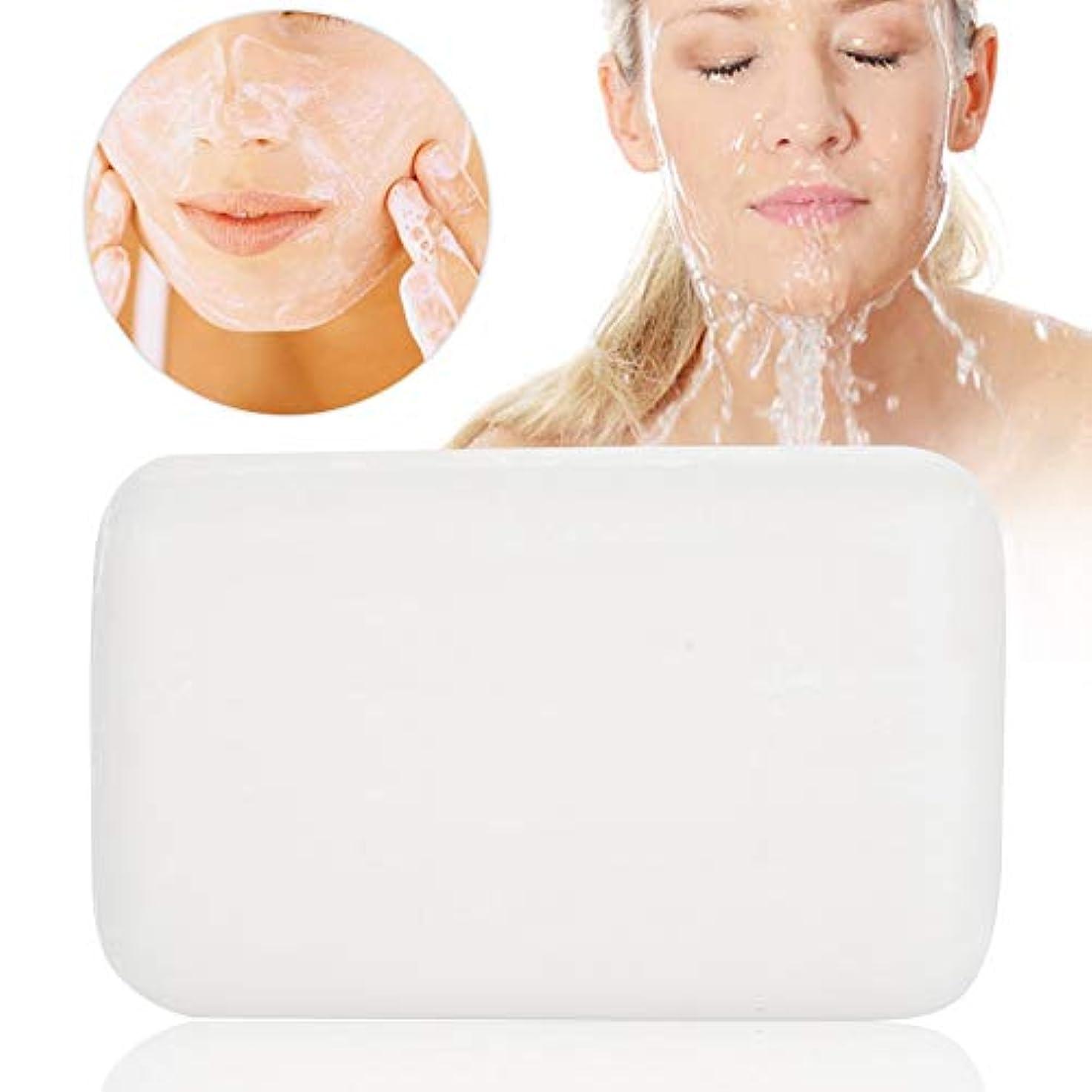 トロリーバス曲一般洗顔石鹸 石鹸 シミ取り! 洗顔石けん 無添加 低刺激性 化粧石鹸(洗顔?全身用) せっけん バスサイズ