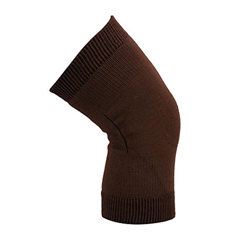 膝関節のサポート - 膝のサポート、大人の膝パッドのサポートダブル膝のサポート - 膝セットロッククライミングジョギングバレーボール乗馬膝の負傷者男性と女性1ペア(コーヒー)