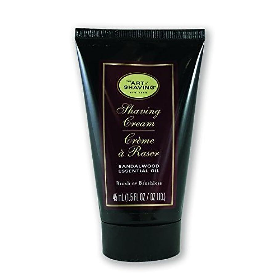 相互接続固体毛細血管The Art of Shaving Shaving Cream Sandalwood 1.5 oz [並行輸入品]