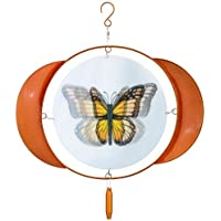 Russco lll WS119650 Animated Butterfly Wind Spinner, Small [並行輸入品]