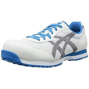 [アシックスワーキング] asics working 安全靴作業靴 ウィンジョブ 32L FIS32L 0196(ホワイト/ライトグレー/24.5)