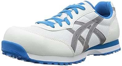 [アシックスワーキング] asics working 安全靴作業靴 ウィンジョブ 32L FIS32L 0196(ホワイト/ライトグレー/23.0)