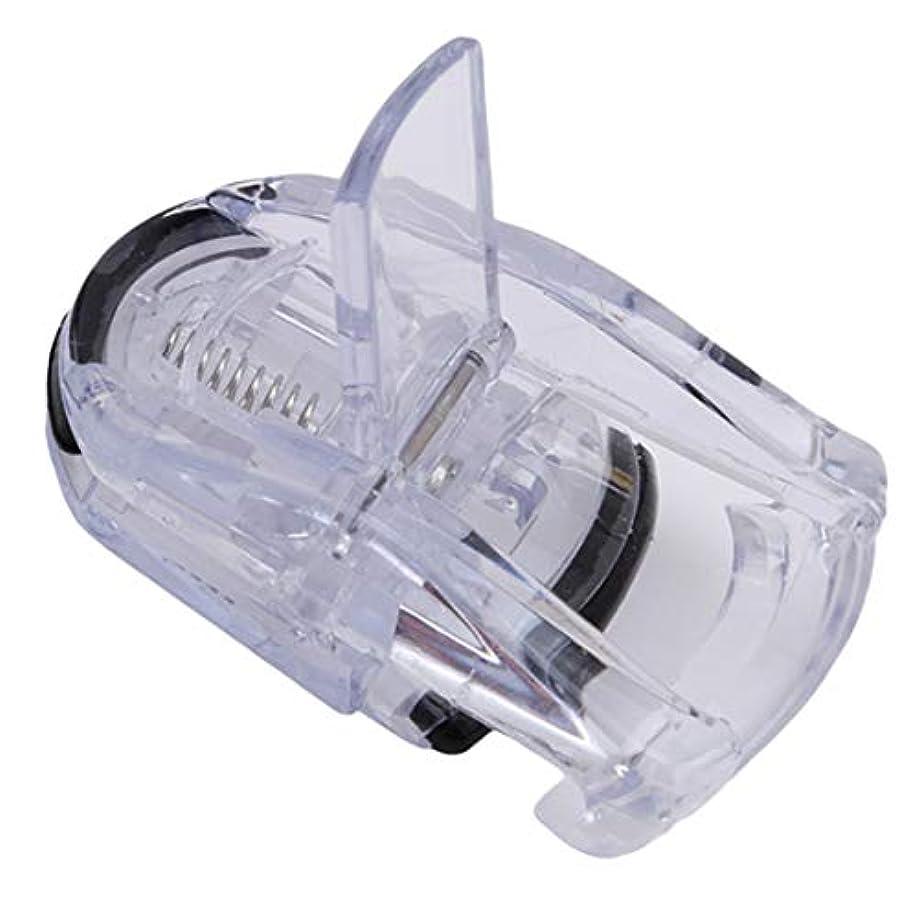 スズメバチ特異な表示Botreelife ミニアイラッシュカーラーポータブルラッシュカーラーツールメイクアクセサリー、透明色