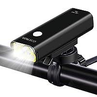 ATARAXIA 自転車ライト正真正銘800ルーメン 2500mah ロードバイクライト USB充電式 5点灯モード IPX6防水 200メートル以上照射  (1)