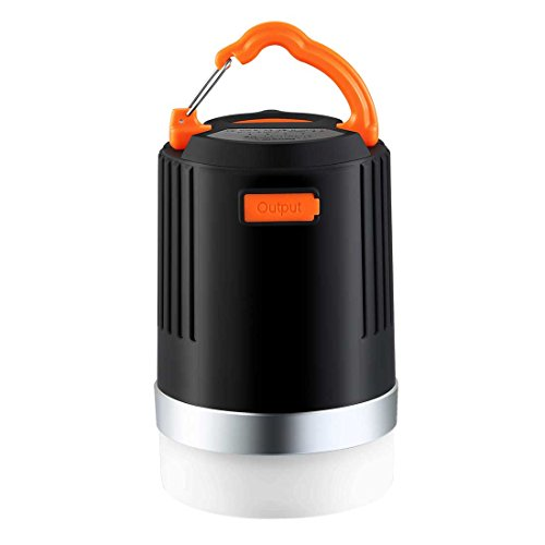 BRISIE LEDランタン 10000mAh モバイルバッテリー 4つ点灯モード 連続点灯最大180時間 防水仕様 アウトドア キャンプ 登山 釣り 夜間の愛犬の散歩 緊急