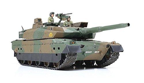 ■ タミヤ/TAMIYA (1/35) 陸上自衛隊 10式戦車 DEF MODEL社製エッチングパーツ/戦車教導隊代表マーク付 (25173)プラモデル