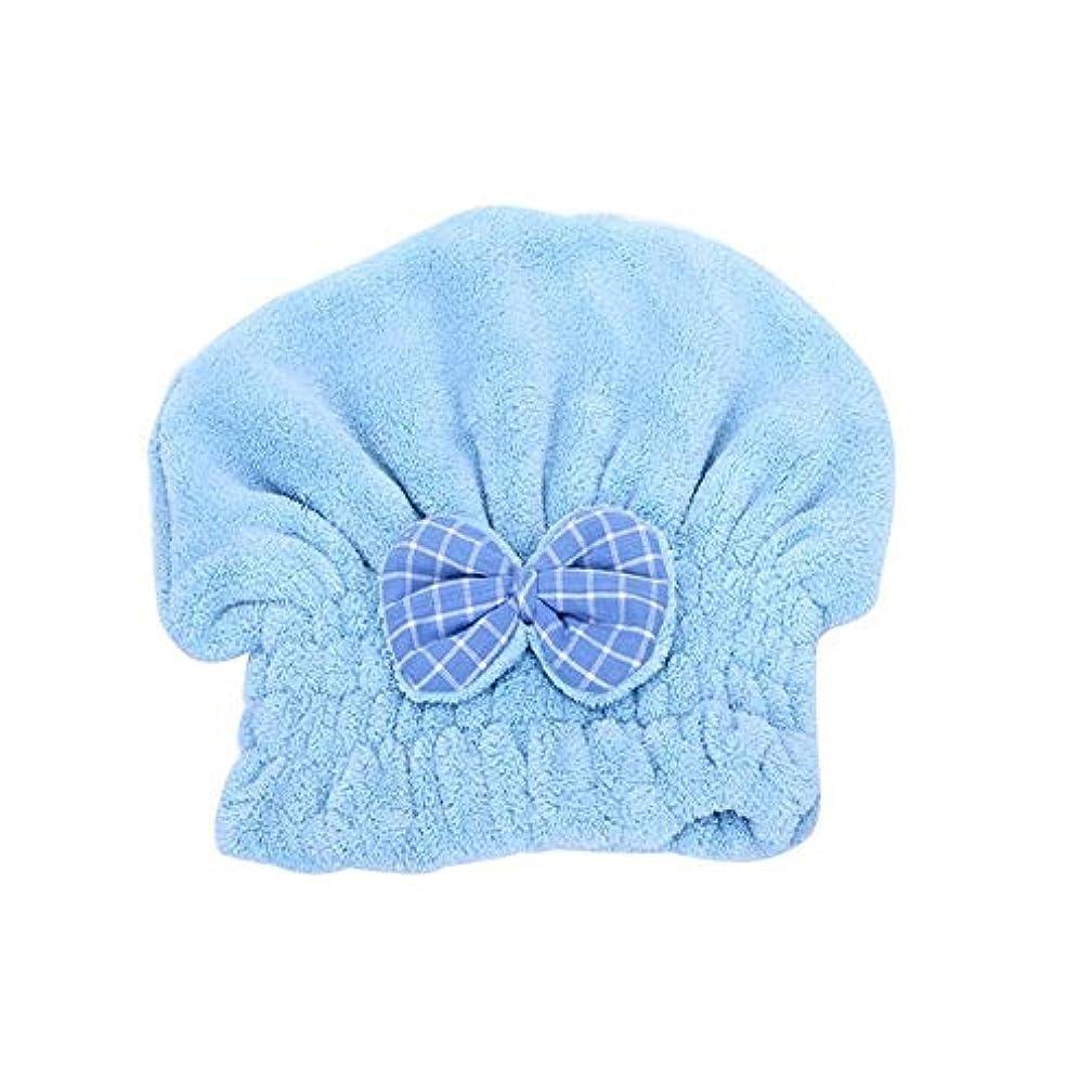 ひねくれた便宜殉教者HJRD キャップシャワー、女子ドライシャワーキャップデラックスは、キャップレディすべての髪の長さや太さ防かび、再利用可能なシャワーキャップシャワー。 (Color : 2)