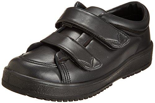 [ムーンスター] レディース リハビリ 介護靴 Vステップ05 (両足同サイズ) Vステップ05(両足同サイズ) ブラック 24 cm 3E