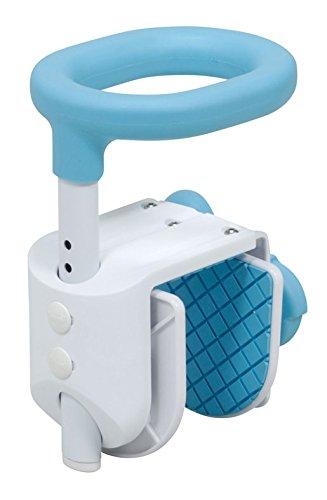 テイコブ コンパクト浴槽手すり ブルー YT01 1台