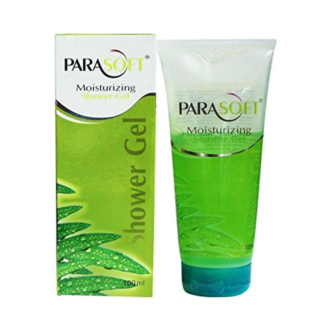 詳細な研磨剤服Parasoft Moisturizing Shower Gel 100ml