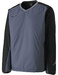 [Mizuno] テニスウェア ブレスサーモ V首ウオーマーシャツ 62JE8506