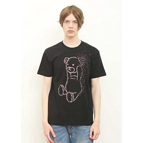 (グラニフ)graniph ベーシックTシャツ / ハナアソビコントロールベア ( ブラック ) M
