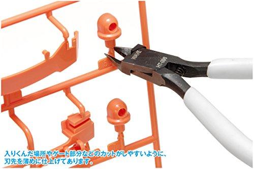 ウェーブ ホビーツールシリーズ プラ用ニッパー (薄刃タイプ) プラモデル用工具 HT-396