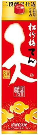 松竹梅「天」 [ 日本酒 京都府 2000mlx6本 ]