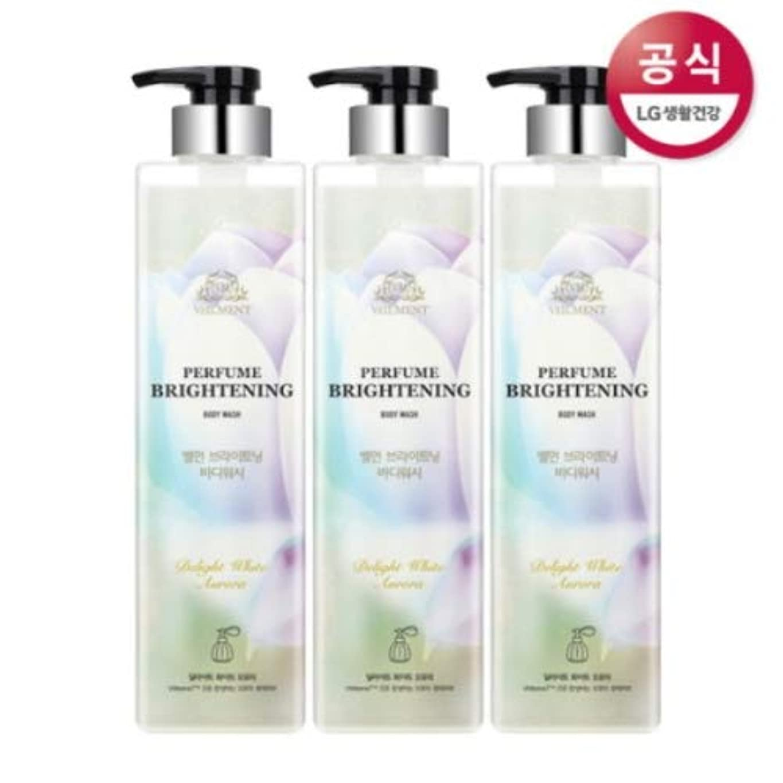 縫い目ナンセンス世界の窓[LG HnB] On the Body Belman Perfume Brightening Body Wash / オンザボディベルモンパフュームブライトニングボディウォッシュ680mlx3個(海外直送品)