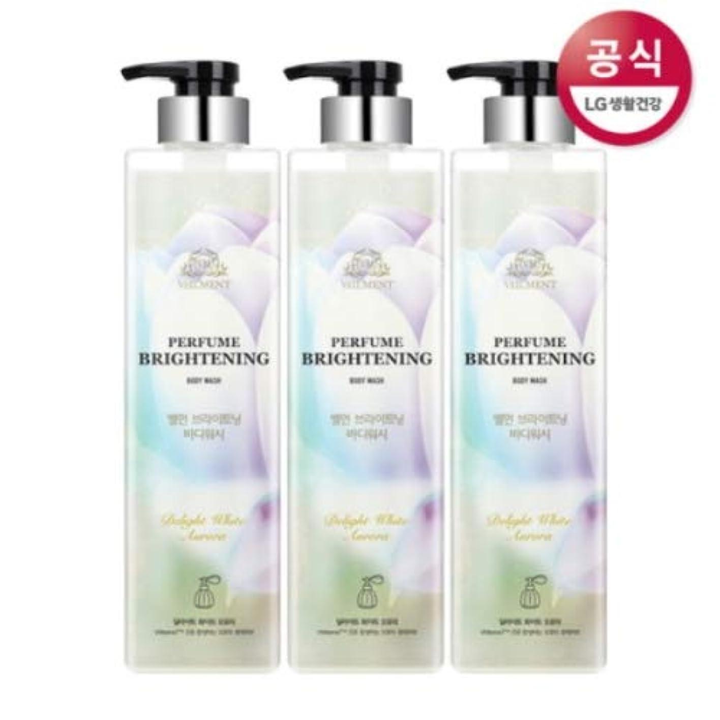 不器用プリーツ正当な[LG HnB] On the Body Belman Perfume Brightening Body Wash / オンザボディベルモンパフュームブライトニングボディウォッシュ680mlx3個(海外直送品)