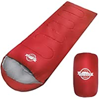 WIBERTA(ウィベルタ) 寝袋 シュラフ コンパクト 夏用 スリーピングバッグ 軽量 封筒型 丸洗い可能 収納袋付き 最低使用温度5度 4カラー