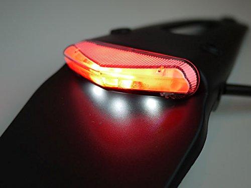 LEDエンデューロテールII ナンバー灯付き クリアレンズ